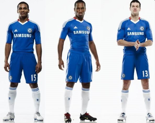 New Chelsea home kit