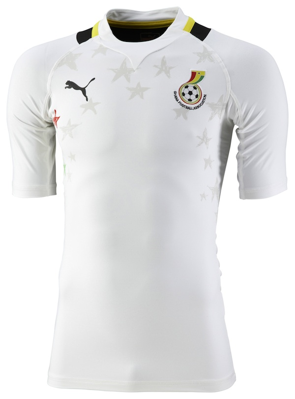 Camiseta Ghana 2012