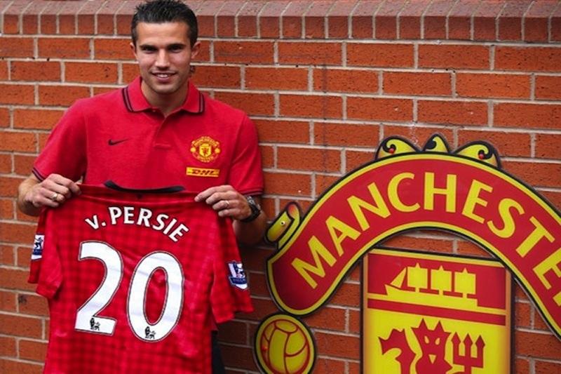 hot sale online dd514 9c47c Robin van Persie - Sir Alex Ferguson's final thrilling gift ...