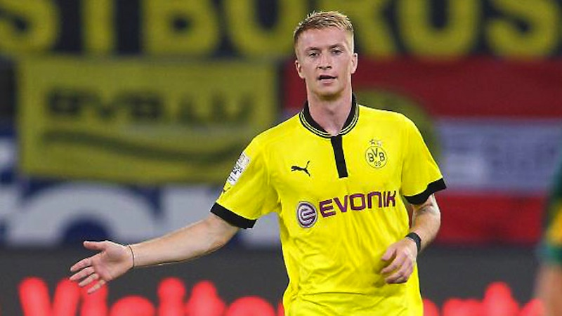 Marco Reus - Borussia Dortmund - 10 players to watch Champions League