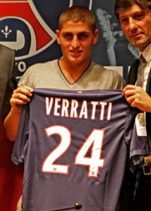 Marco Verratti - players to watch - Champions League - PSG