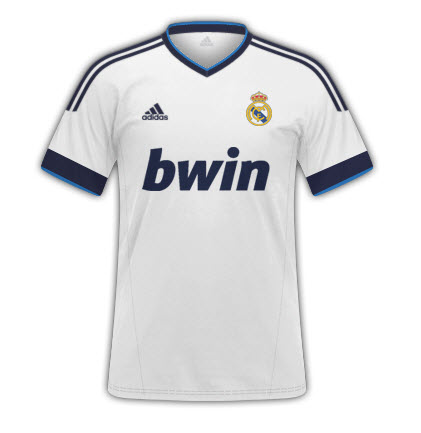 Real Madrid Home Shirt 2012-13