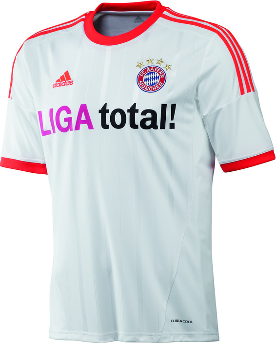 newest 13b3c da213 New Bayern Munich Away Kit 2012-13 - Just Football