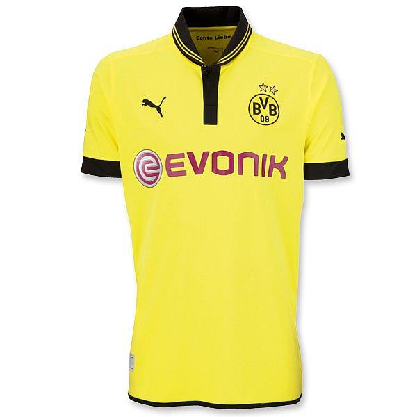 5757c5774e3b2 New Borussia Dortmund Home Kit (Domestic and European) 2012-13 ...