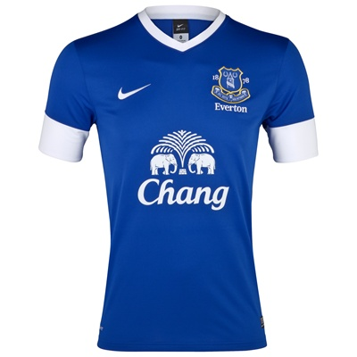 best sneakers d8605 3138b New Everton Home Kit 2012-13 - Just Football