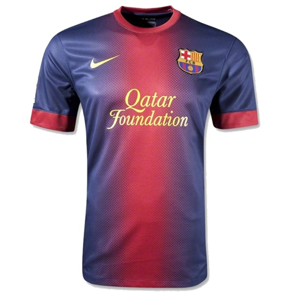 ba1b30ad254 New FC Barcelona Home Kit 2012-13 - Just Football