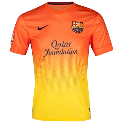 c82549d1de0 New FC Barcelona Away Kit 2012-13 - Just Football