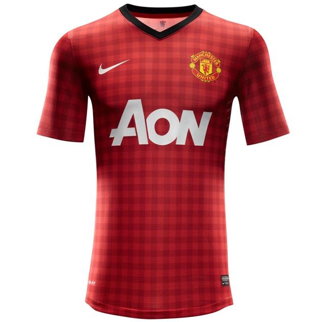 Man United home kit 2012-13
