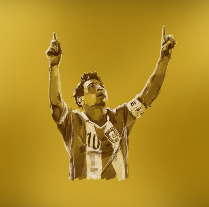 Lionel Messi Ballon D'or - Photo, Shoot