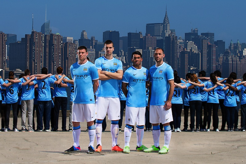 Manchester City new home kit