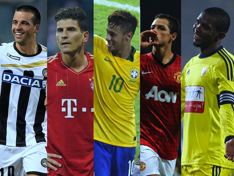 Best Strikers in the World 2013