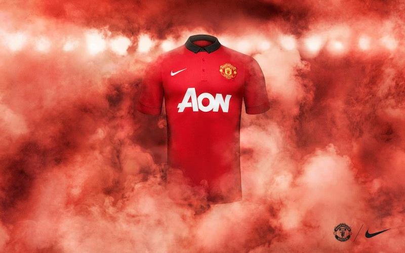 new MUFC home kit
