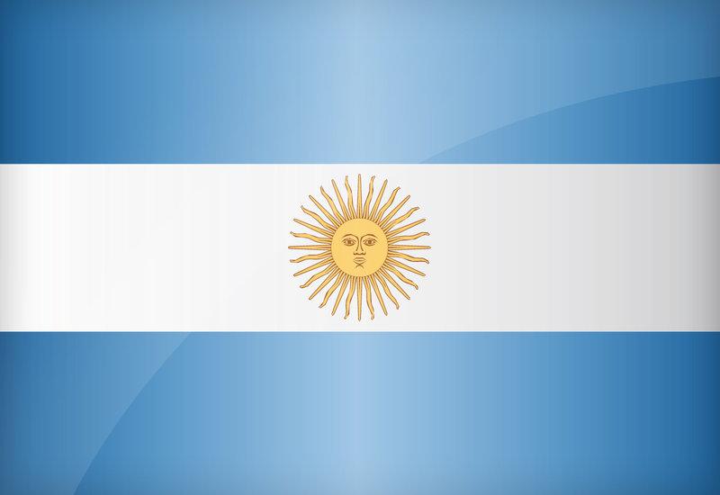 Argentina Flag Soccer