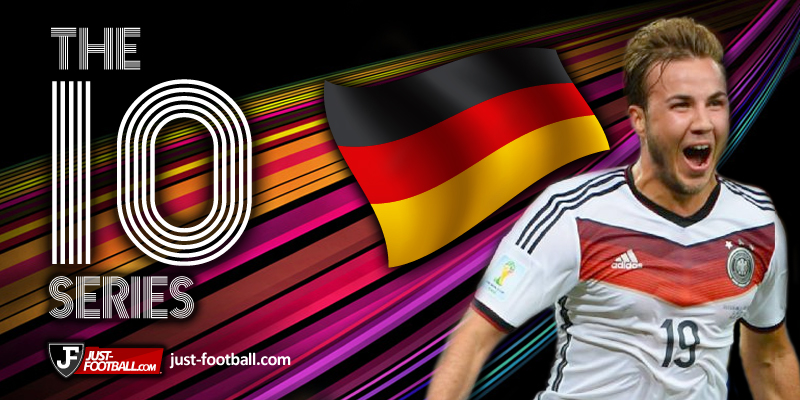 best young players in Europe Goetze