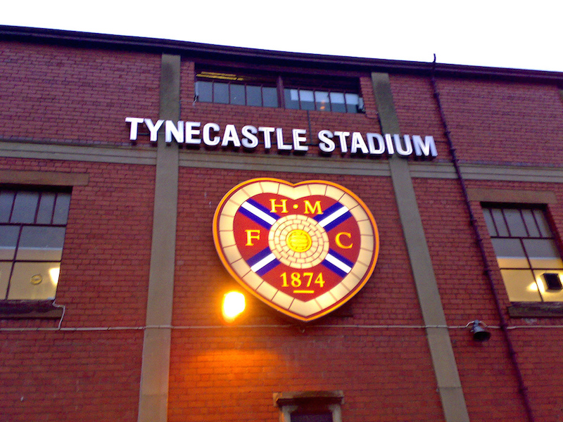 Hearts Tynecastle
