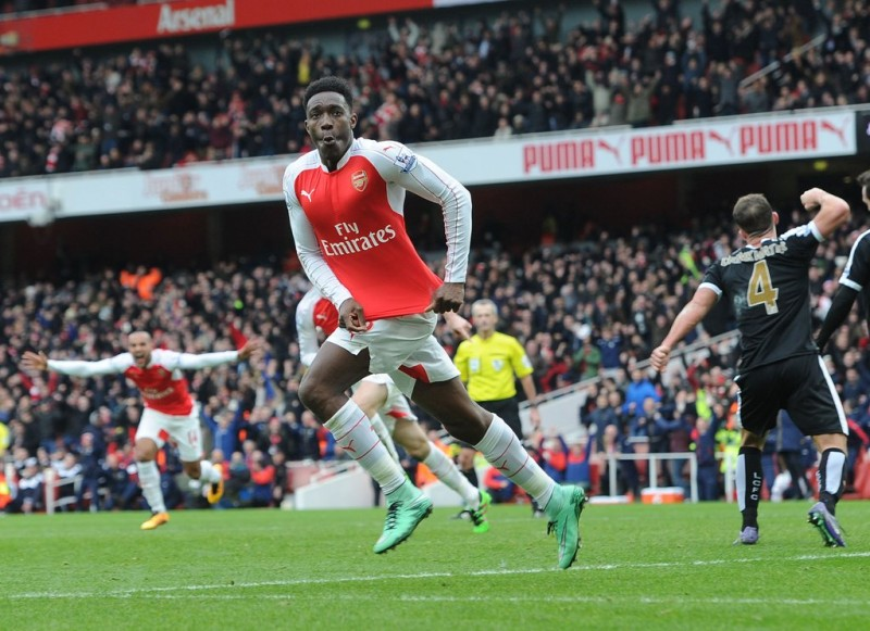 Arsenal 2 1 Leicester City 10 Tweet Match Summary As Danny Welbeck Winner Breaks Leicester Hearts Just Football