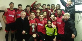 Hayes and Yeading United win Middlesex FA Youth Cup 2016