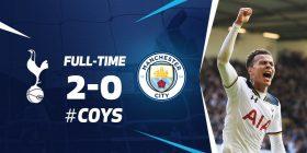 Spurs 2-0 Manchester City