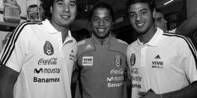 Carlos Vela and Giovani Dos Santos