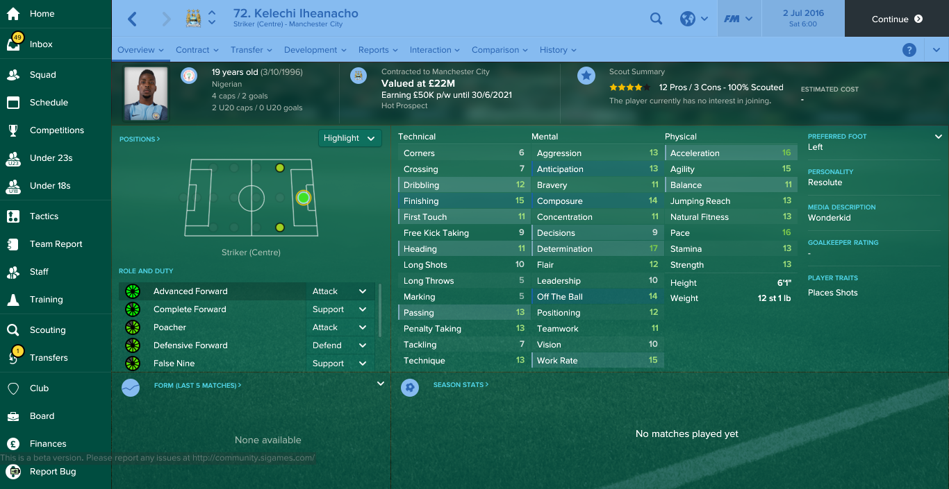 Football Manager wonderkids: How our #JF70 wonderkids stack