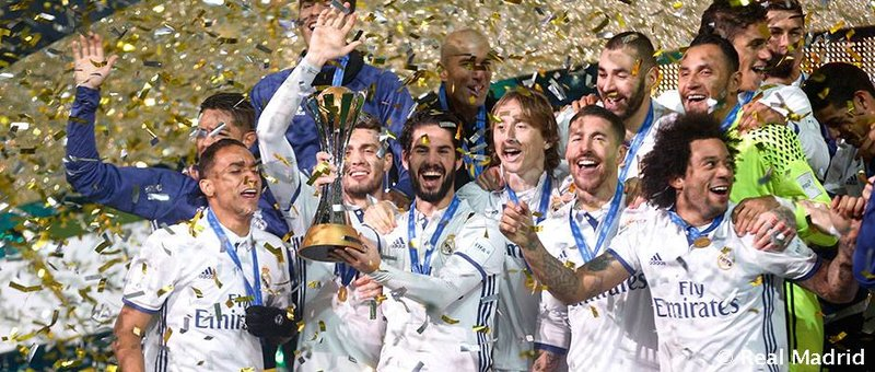 Real Madrid Club World Cup 2016